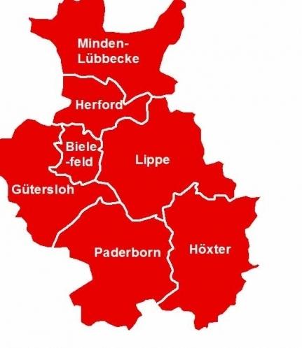 owl karte OstwestfalenLippe   Die Region ganz oben in NRW   Regionalagentur  owl karte